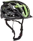 Uvex Fahrradhelm i-vo C, schwarz-grün, 56-60, 4104171217
