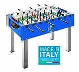 Calciobalilla FAS PRO ITALY BLU Aste Rientranti da Interno con Palline + SPRAY LUBRIFICANTE -...