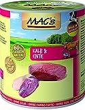 MACs Dog Kalb & Ente | 6x 800g Hundefutter nass getreidefrei