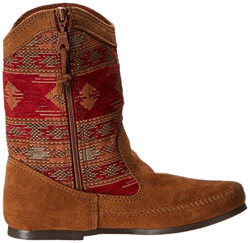 Minnetonka Baja Boot, Stivali donna Rosso (RedRed)