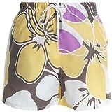 Jungen Kinder Cargo Kurze Hose Bermuda Shorts Capri Vintage Sport Strech 20370, Farbe:Gelb;Größe:98