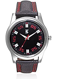 TSX Analog Watch With Leather Strap WATCH-069
