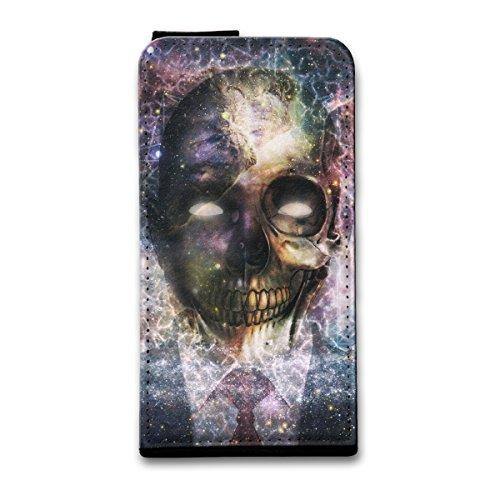 Flip Style Vertikal Handy Tasche Case Schutz Hülle Schale Motiv Foto Etui für Apple iPhone 5 / 5S - Flip V15 Design4 Design 1