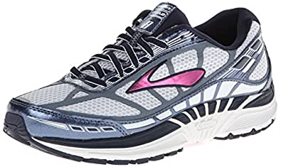 Brooks Women's Dyad 8 Midnight/Storm/Fuchsia 12 EE - Extra