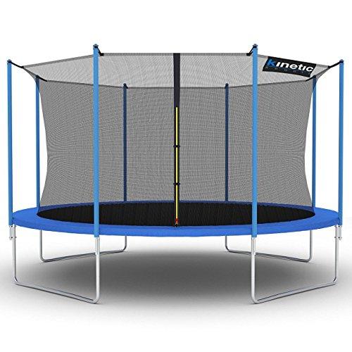 Kinetic Sports Gartentrampolin Ø 430 cm