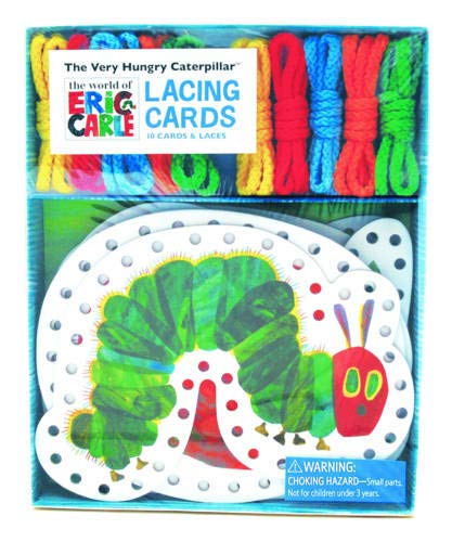 The Very Hungry Caterpillar Lacing Cards (World of Eric Carle) (Caterpillar Motor)