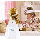 Disfraz de juego para niños Uniforme general de enfermera de bata blanca para niños