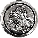 Cadox 714200 - Medalla Adhesiva de San Cristóbal
