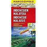 Indonésie, Malaisie - Carte routière et touristique