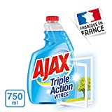 Ajax Reiniger Vitre Nachfüllpack Regular 750ml–Lot de 4