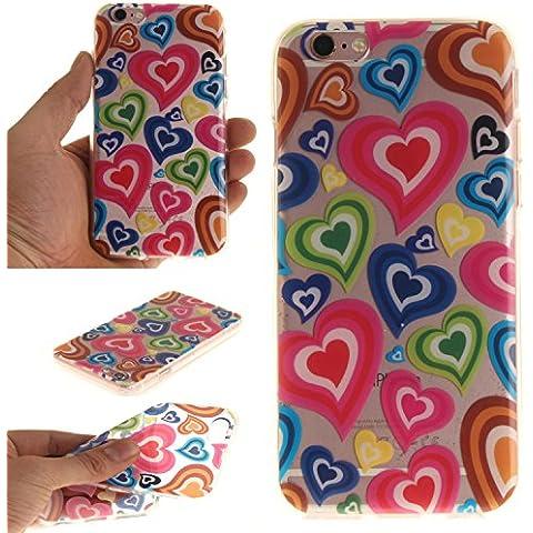 Cover iPhone 6 6s, Cozy Hut ® [Custodia Chiaro Cristallo]