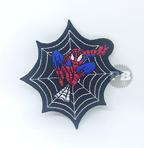 Parche bordado Marvel coser planchar Spiderman