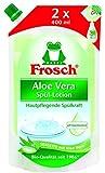 Frosch Aloe Vera Handspül-Lotion Nachfüllbeutel, 6er Pack (6 x 800 ml)