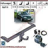 ATTELAGE avec faisceau 7 broches | Volkswagen Golf III de 1991 à 1998 / crochet...