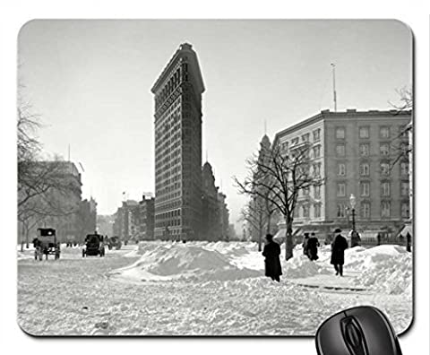 flat iron building nyc Mouse Pad, Mousepad (Houses Mouse