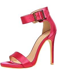 Amazon.es  34 - Sandalias de vestir   Zapatos para mujer  Zapatos y ... f66bc1c36003