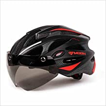 Casco Ultra Light de peso-bici, casco de ciclismo de deporte ajustable Cascos de bicicleta para bicicletas de carretera y montaña, motocicleta para hombres ...