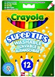 Crayola - 12 Bright Supertips