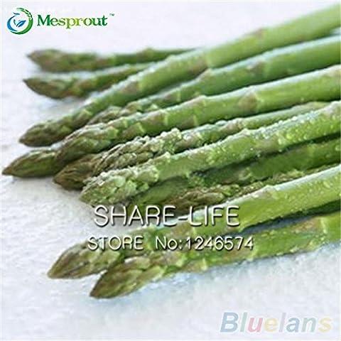 50pcs / pack asparagi Semi cimelio organici Rare verdure verde giardino domestiche Semi molto facile di trasporto