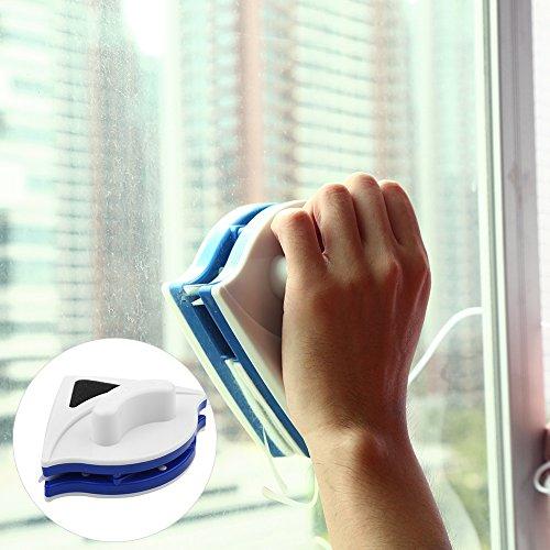 Fenstersauger Set Dry Clean Saugdüse für 360° streifenfreie Reinigung für Fenster, Fliesen,...