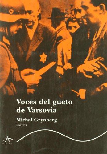 Voces del gueto de Varsovia (Trayectos (alba))