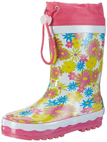 Playshoes Unisex Kids' Rubber Flowerprint Wellington Boots
