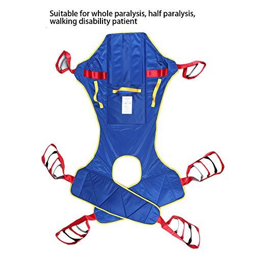 51tCxIK2FFL - Lifting Sling Full Body Paralizado Transferencia De Pacientes Elevación De Cinturón Elevación Doméstica Elevación Sling Drive Rehabilitación Ajustable Tira De Movimiento Anciano