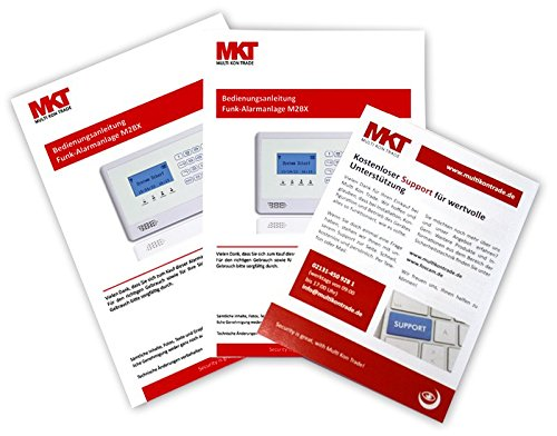 Model M2BX GSM Funk Alarmanlage mit Touchpad Monitor + Alarm SMS Anruf - 3