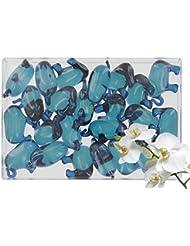 Boîte de 24 perles d'huile de bain fantaisies - Éléphant parfum orchidée