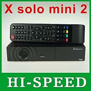 Récepteur Enigma2 satellite X Solo HD mini MINI2 vu le solo de MU avec BCM7358 DVB-S2, x solo 2 mini-Livraison gratuite