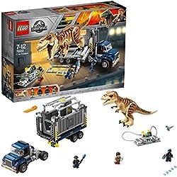 Lego Jurassic World T. Rex Transport 75933 T. Rex Toys