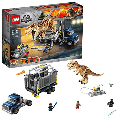 LEGO Jurassic World - Transportation of the T Rex (75933)