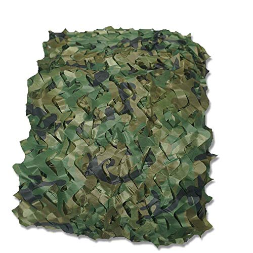 SXY-WZW Tarnnetz Tarnnetz Leichtes Tarnnetz, Großes Wasserabweisendes Camping Shelter Woodland Shooting Hide , Tarnnetz Camo Oxford Fabric Jagd-Tarnnetz, Camping Shelter (Size : 9x10 Meters) -