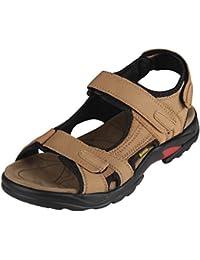 iLoveSIA Herren Outdoor Sandalen bequemer Schuh leichte Sommer sandale Klettverschlüssen