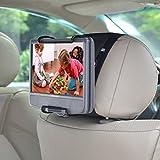 WANPOOL Lecteur DVD Portable pour Appuie-tête de Voiture avec Angle Ajustable pour Incliner l'écran