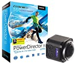 Somikon 360-4K-ActionCam, 16-MP-Sensor, Fernbed. & PowerDirector 15 Ultra