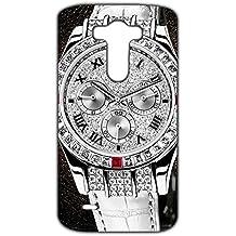 Estilo CALIENTE Ralph Lauren deportivos reloj personalizado plástico delgado personnalisée 3D funda L6M057 para Lg G3