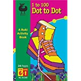Dot to Dot 1 to 100 Shoe, Buki Activity Book by Poof-Slinky