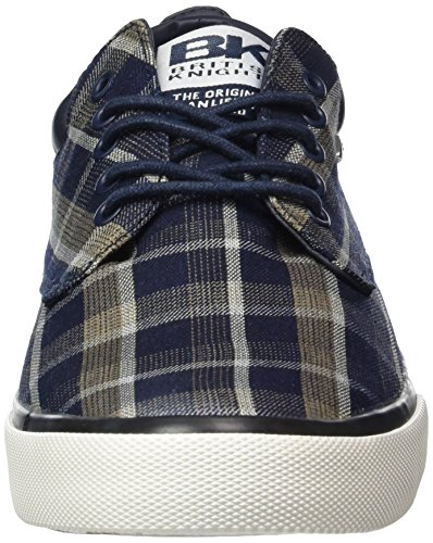 British Knights Herren Juno Low-Top Blau (Navy-Beige 01)