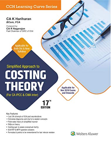 Simplified Approach to Costing Theory (For CA-IPCC & CWA INTER)
