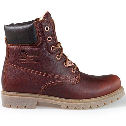 Panama Jack Damenschuhe Panama 03 Wool B9 Damen Stiefel, Boots, Stiefelette braun (Lederfarben), EU 39 -