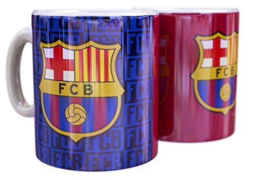 FCB Mug FC Barcelona Blaugrana Escudo Trama