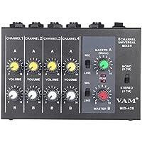 ammoon ultrakompakt unten Geräusche 8 Kanäle Metall Mono Stereo Audio Mixer mit Stromkabel Adapter Recommended Browse Nodes: 412511031