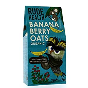 Rude Health Foods | Banana Berry Oats | 1 x 325g