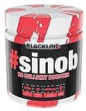 BlackLine 2.0 # Sinob Pre-Workout Booster Trainingsbooster Bodybuilding 300g Orange Iced Tea - Eistee Orange