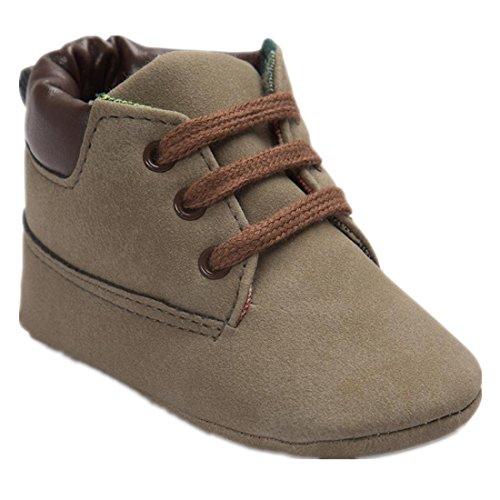Baby Kleinkind Weiche Sohle Schuhe,URSING Säugling Junge Mädchen Kleinkind Schuhe (11, Brown 1) (1 Kleinkind-brown-leder-schuhe)