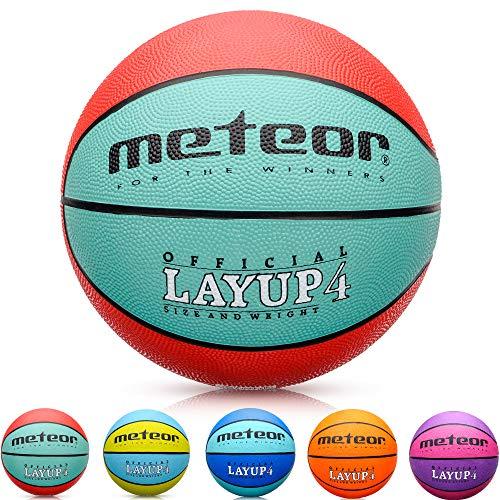 Meteor Balón Baloncesto Talla 4 Pelota Basketball