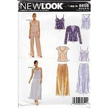 Simplicity New Look Sewing Pattern 6558 patrones de costura para vestidos de fiesta, patrones e