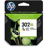 HP 302XL Original Druckerpatrone (mit hoher Reichweite für HP Deskjet 1110, 2130, 3630, HP OfficeJet 3830, 4650, 5030, HP ENVY 4520)