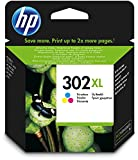 HP 302XL Farbe Original Druckerpatrone mit hoher Reichweite für HP Deskjet, HP ENVY, HP Officejet